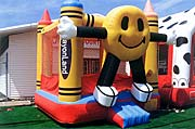 Happy Crayon 13 x 13 Bounce House Rental