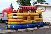 Noah's Ark 13 x 13 Bounce House Rental