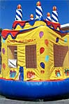 Birthday Cake 13 x 13 Bounce House Rental