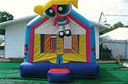 Power Puff Girls 13 x 13 Bounce House Rental