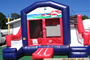 Double Slide Combo Inflatable Combo Rental