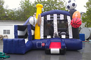 Sports Combo Inflatable Combo Rental