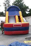 16 ft. Dry Slide Interactive Inflatable Rental