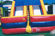 18' Two Lane Dry Slide