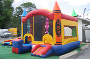 Crayon Combo Inflatable Combo Rental