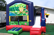 Waving Hand Combo Inflatable Combo Rental