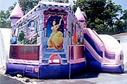 Princess Combo Inflatable Combo Rental