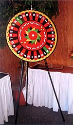Spinning Wheel Game Rental